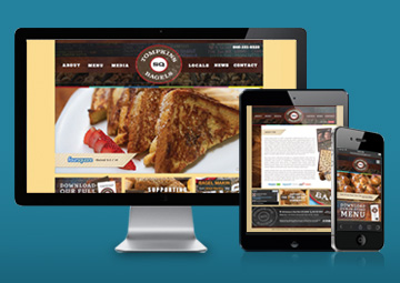 Web and Mobile Design Development for Tompkins Square Bagels.
