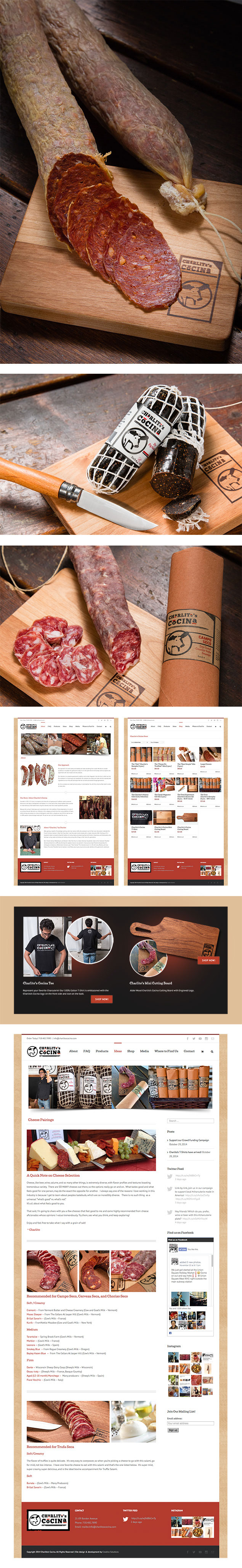 E-Commerce Web Design, Development and Photography.